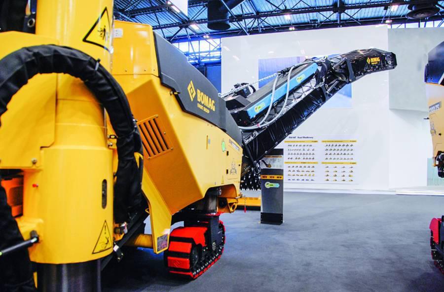 Bomag презентувала нову технологію IonDustShield, яка знижує викиди дрібного пилу під час фрезерування доріг