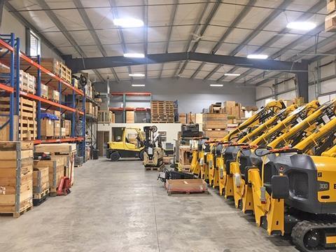 Brokk відкриває новий найбільший складський комплекс в США