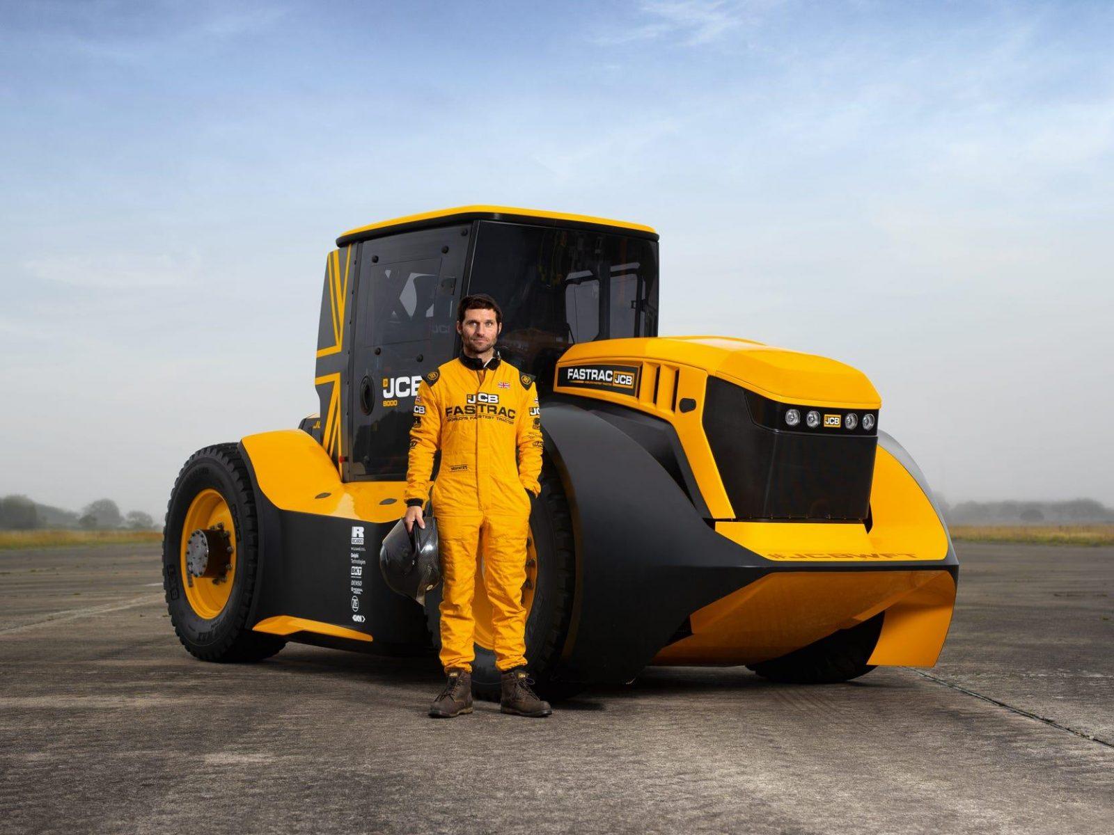 JCB Fastrac Two – найшвидший у світі трактор