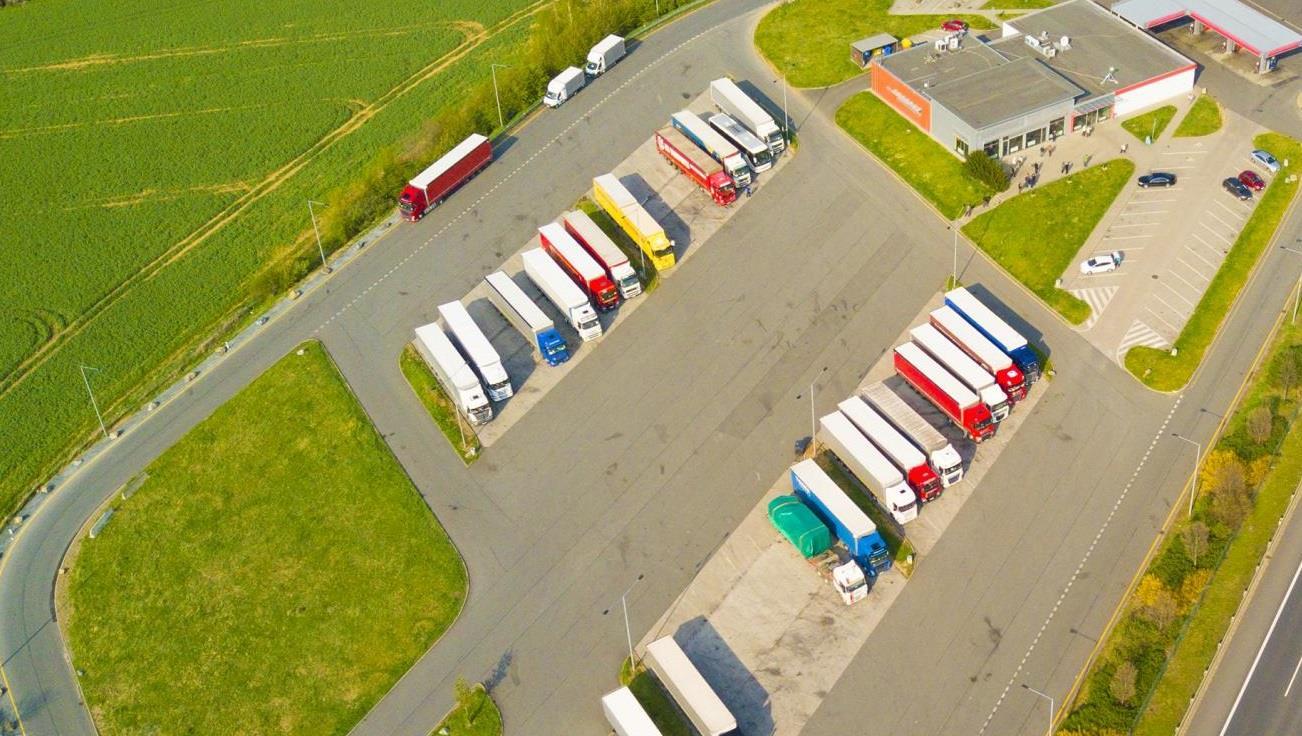 У країнах Евросоюзу на 60 млн євро побудують зупинки під охороною для вантажівок