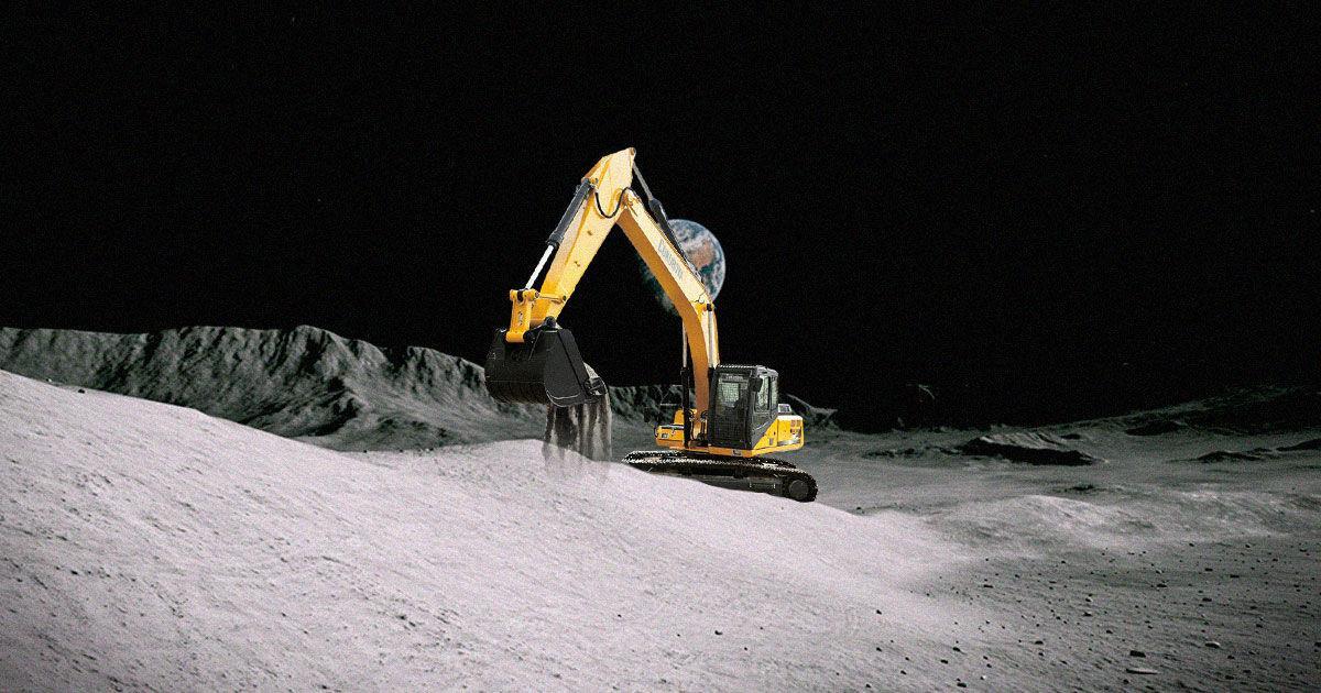 Caterpillar планує відправити екскаватори на місяць