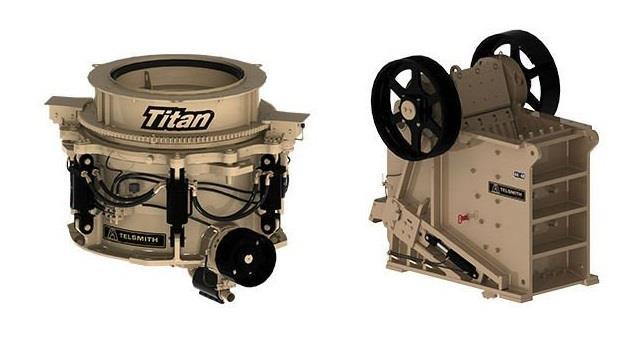 Telsmith представит конусную дробилку серии Titan на CONEXPO-CON/AGG 2020