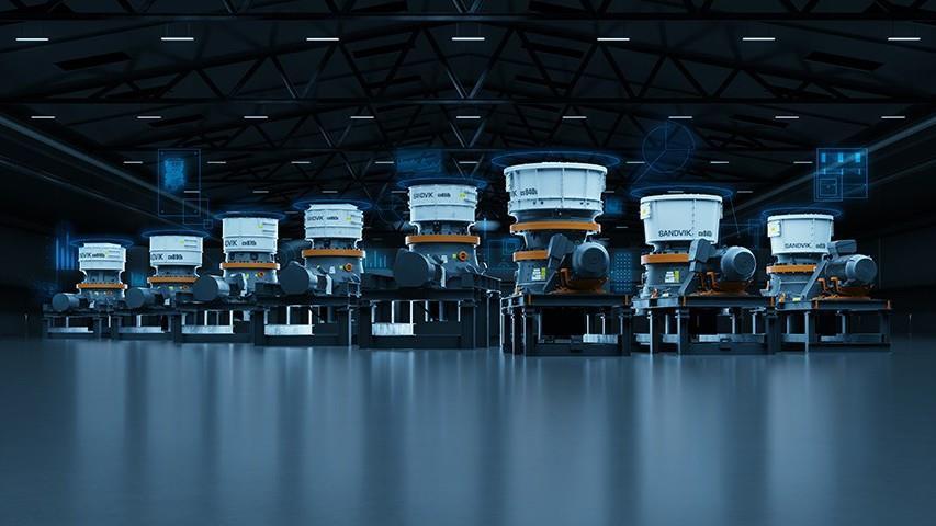 Sandvik представляє нову серію конусних дробарок преміум класу