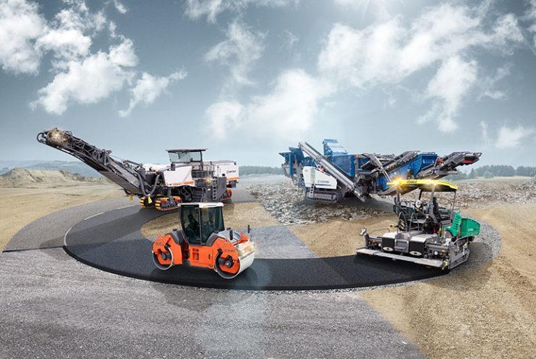 Wirtgen Group представить 10 нових машин на CONEXPO-CON/AGG 2020
