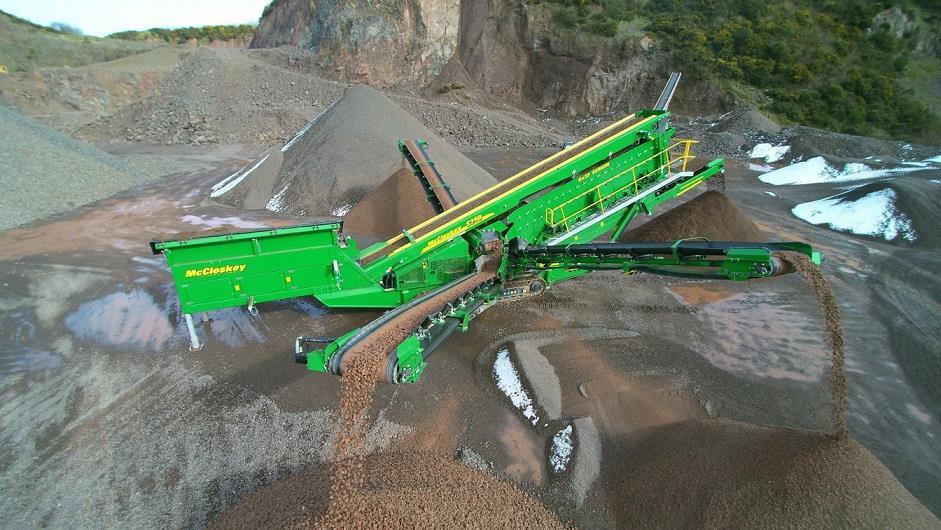 McCloskey продемонструє найбільший на сьогодні модельний ряд обладнання на CONEXPO/CON-AGG