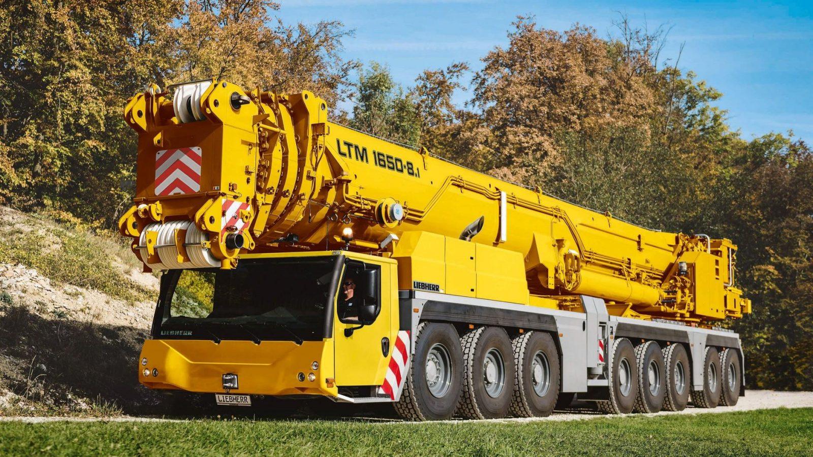 Новый 800 тонный гусеничный кран Liebherr представят на ConExpo-Con/Agg 2020