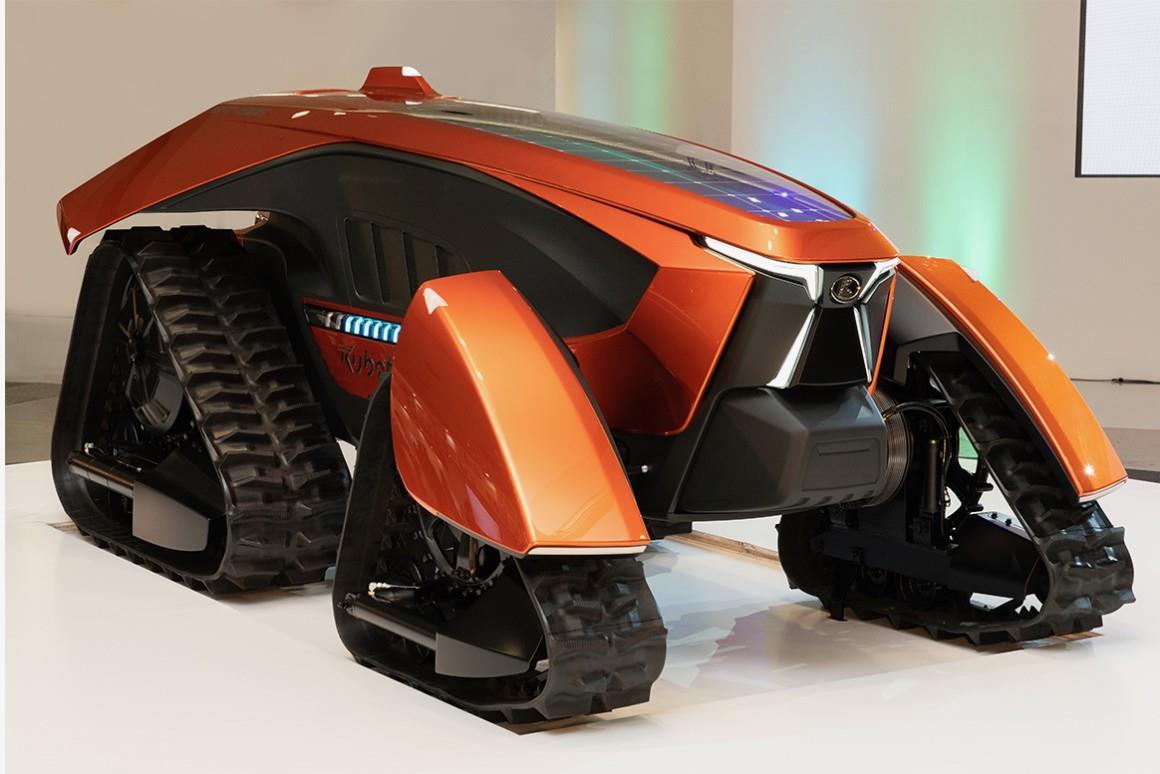 Японська компанія Kubota презентувала концепт трактора майбутнього
