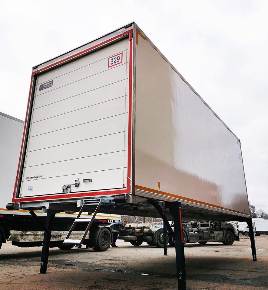 Зйомний кузов Swap Body від InterCargoTruck