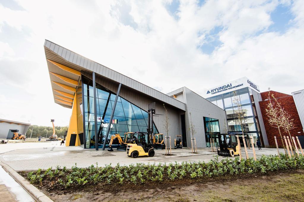 Hyundai Construction Equipment празднует 25-летие в Европе