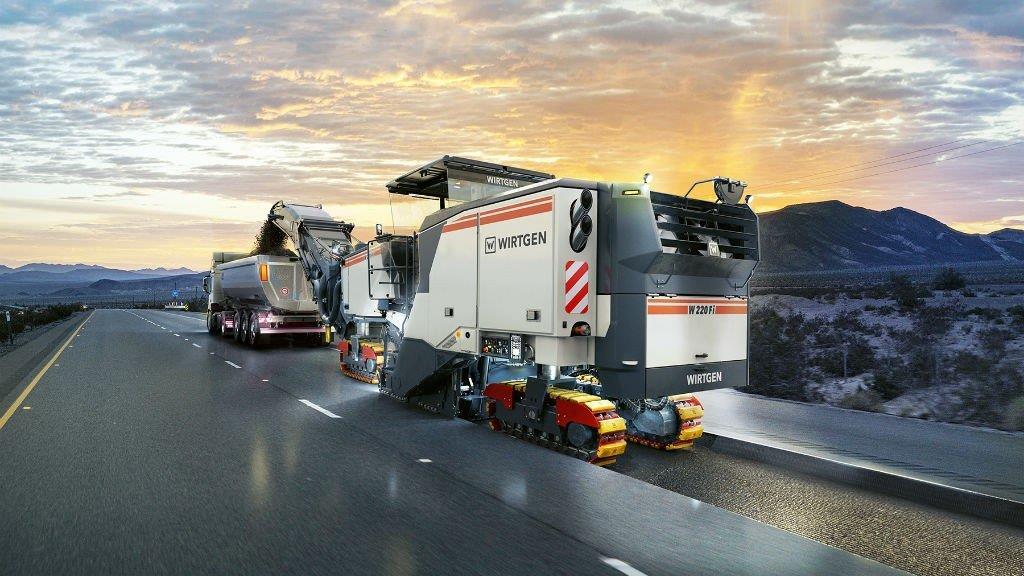 Wirtgen готує потужні дорожні фрези з системою управління MILL ASSIST