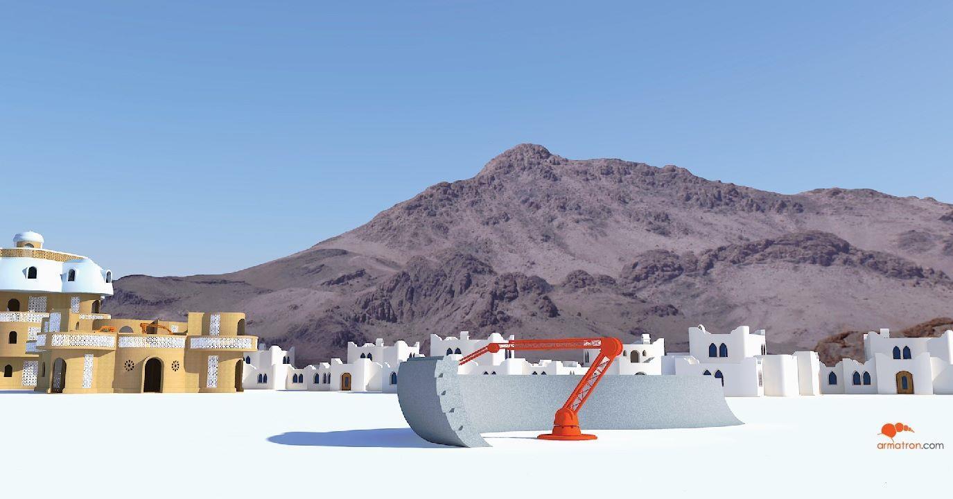 Armatron представляет 3D-принтер для бетонных конструкций