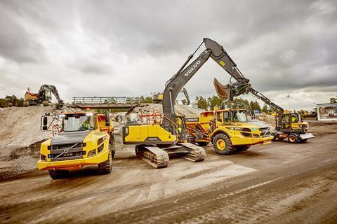 Volvo CE начнет использовать возобновляемое топливо