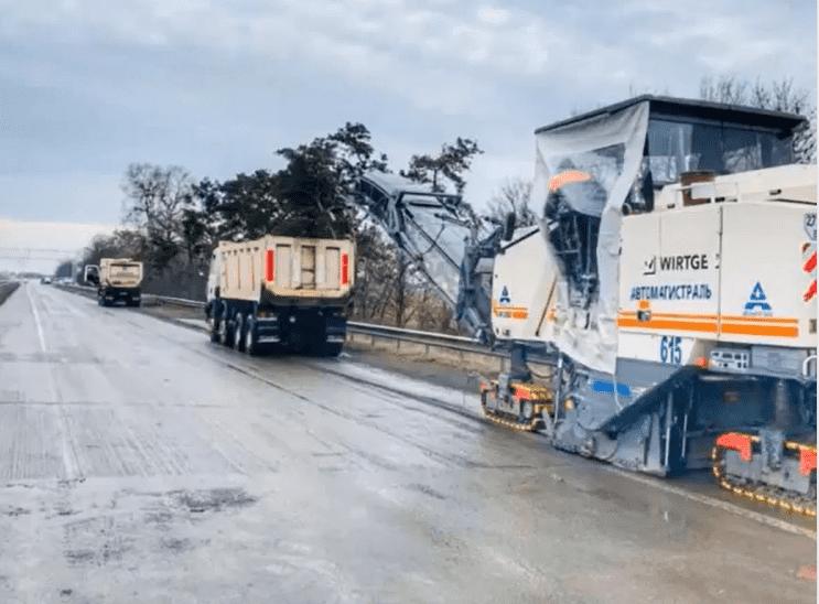 """Триває робота над облаштуванням майданчика WIM на дорозі Р-03 """"Північно-східний обхід міста Бориспіль"""""""