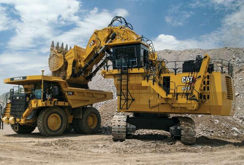Caterpillar анонсирует новый гидравлический экскаватор для горных работ