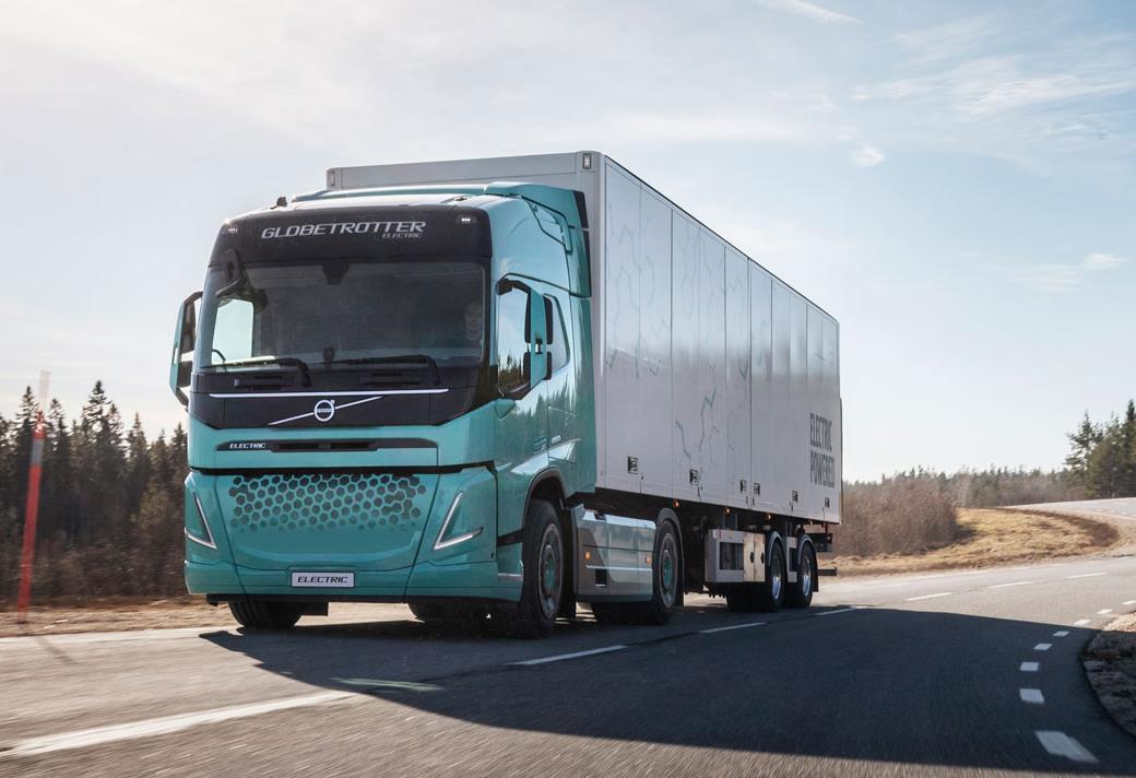 Volvo Electric показала нову кабіну для Volvo FM