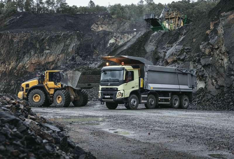 Volvo Trucks выпускает абсолютно новую модель FMX