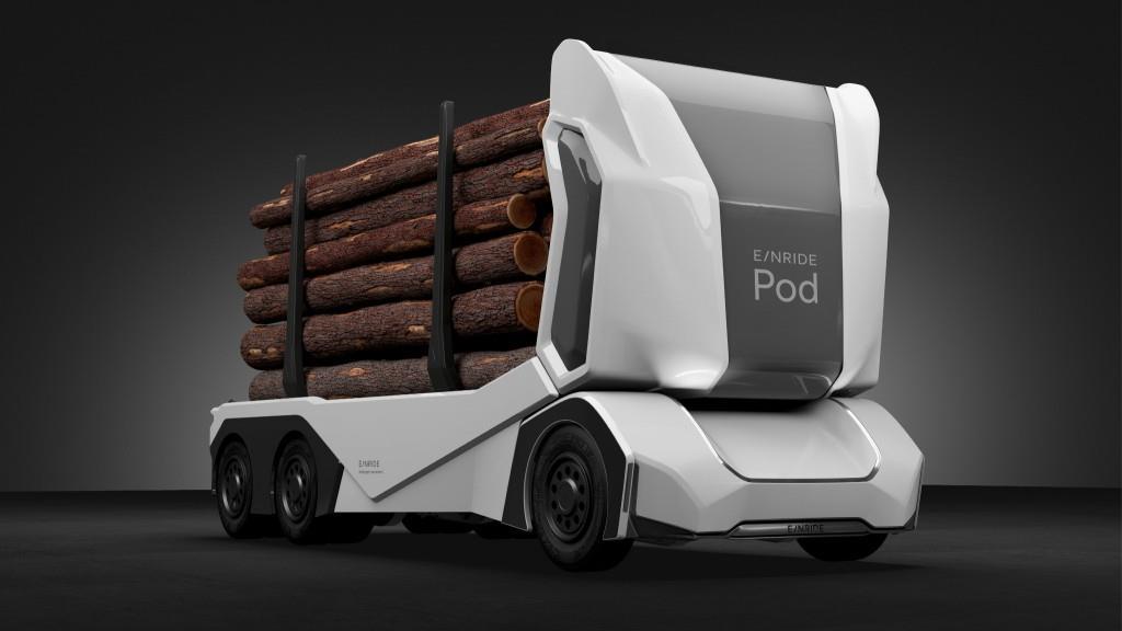 Einride Pod випустила повністю автономну електровантажівку