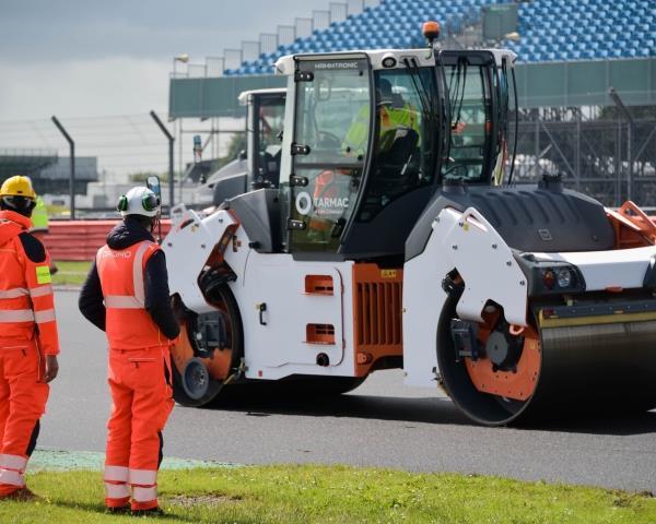 Сучасні технології фрезерування дорожнього покриття на трасі Формули-1