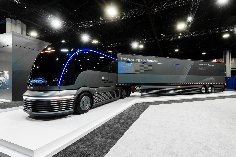 Перші вантажівки Hyundai на водневому паливі виїдуть на дороги Швейцарії
