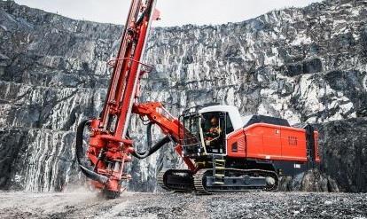 Новый буровой станок Leopard DI650i от Sandvik значительно экономит время на техобслуживание