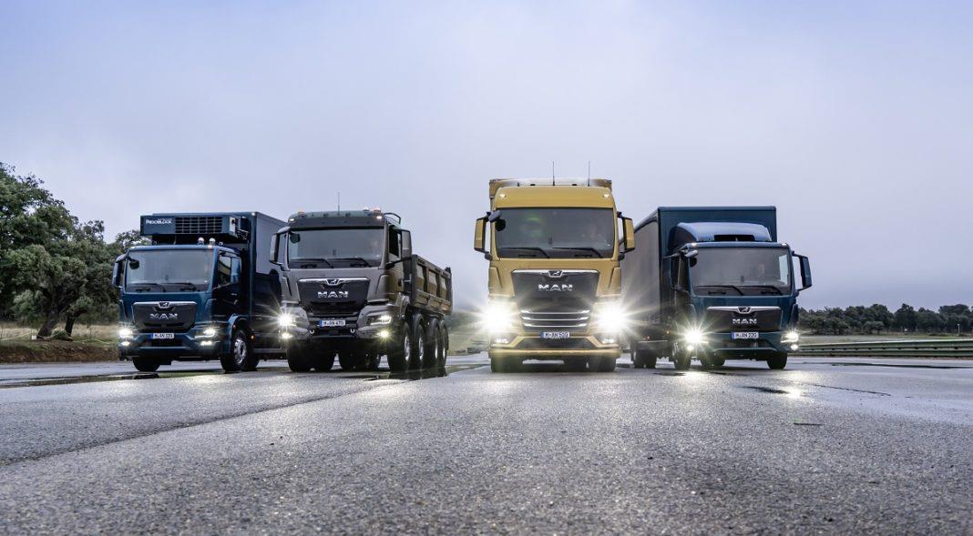 Компания MAN выпустила новое поколение грузовых автомобилей