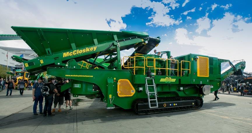 McCloskey International представила першу конусну дробарку C-Series