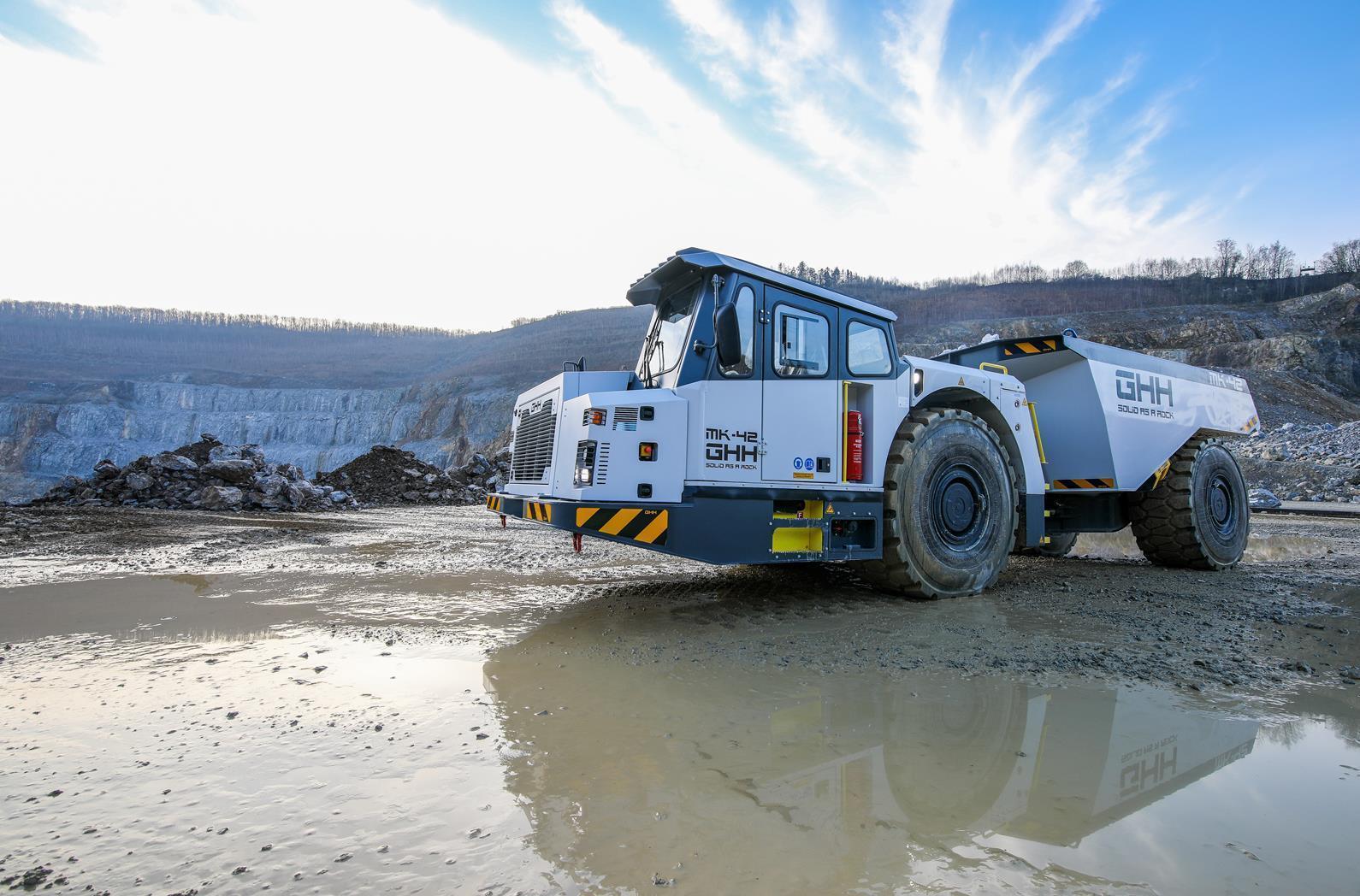 Новий шахтний самоскид MK-42 від GHH проходить випробування у жорстких умовах