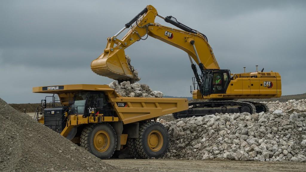 Caterpillar представил новый 100-тонный экскаватор серии Next Generation