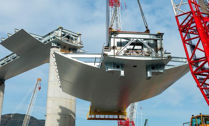 В Італії відновили роботи з будівництва мосту у Генуя
