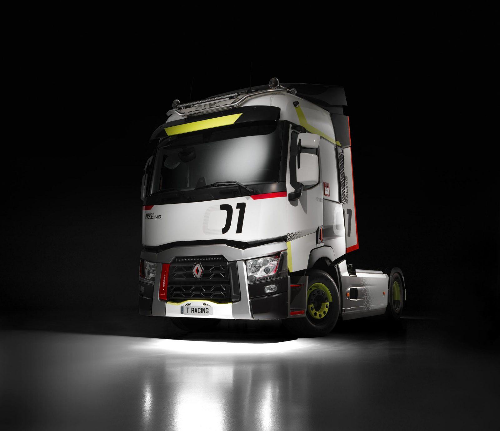 Renault Trucks T01 Racing спеціальна серія вантажівок з невеликим пробігом