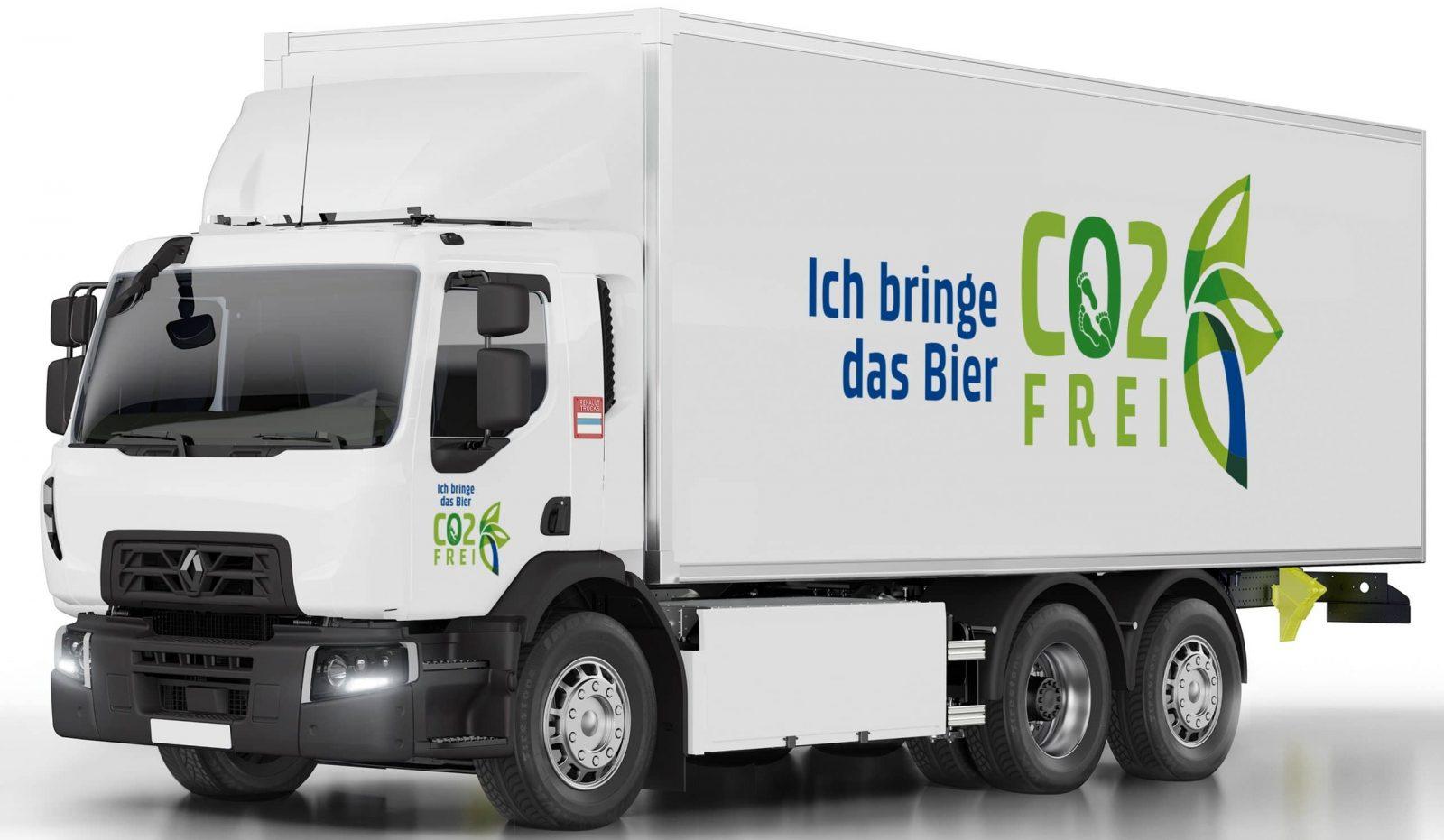 Перший масштабний контракт: Renault Trucks поставить на пивзавод Carlsberg Group 20 електричних вантажівок