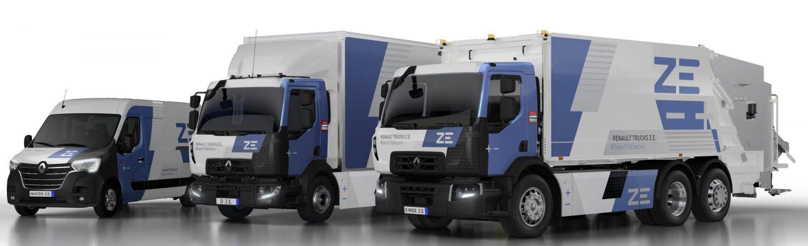 Renault Trucks запускає серійне виробництво електричних вантажних автомобілів