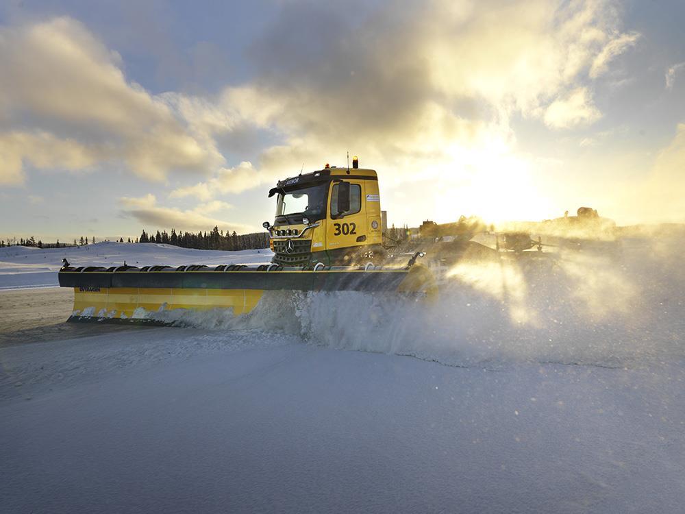 Yeti Snow Technology планує поставляти снігоприбиральні машини з автономним керуванням вже цієї зими