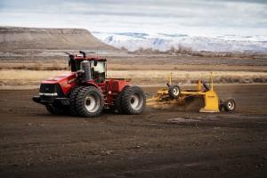 Новий вирівнювач ґрунту від K-Tec: безпечне пересування та великий обсяг призми волочіння