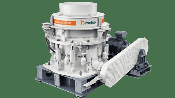 Metso представила нову конусну дробарку HP900