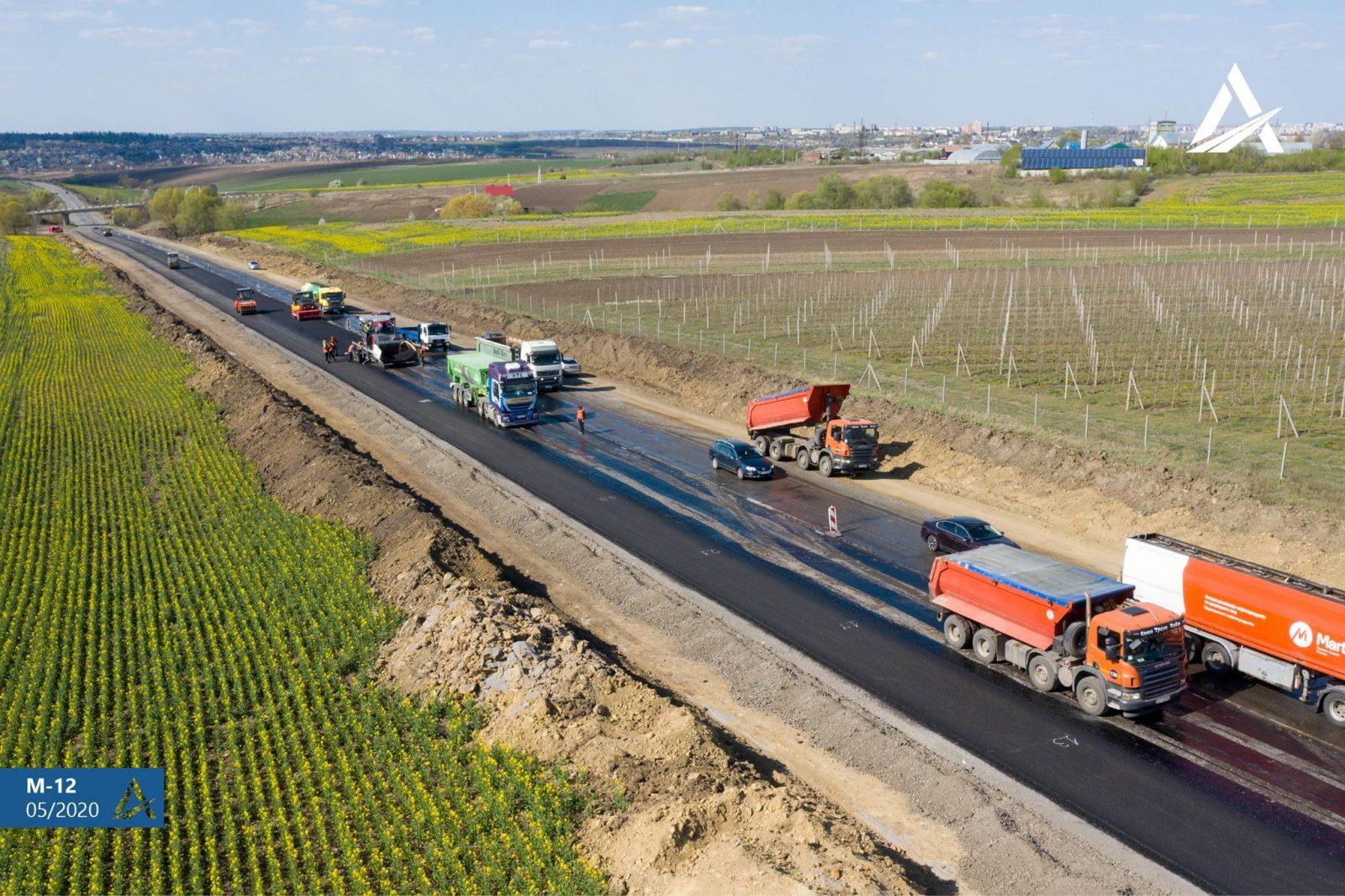 В червні будуть відкриті перші шість відремонтованих автодоріг