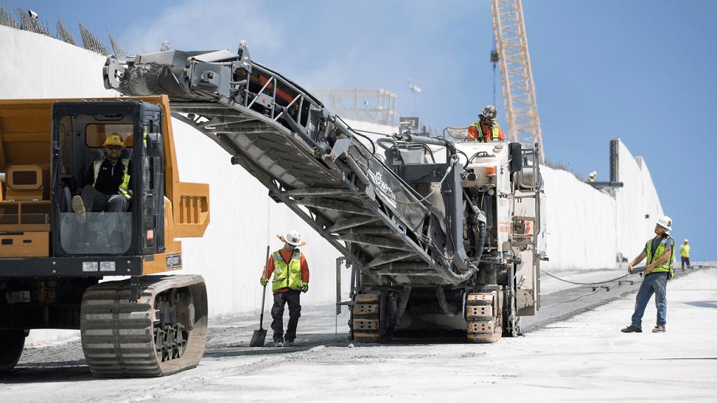 Задача із зірочкою: як працювали холодні фрези Wirtgen при ремонті найвищої греблі у США