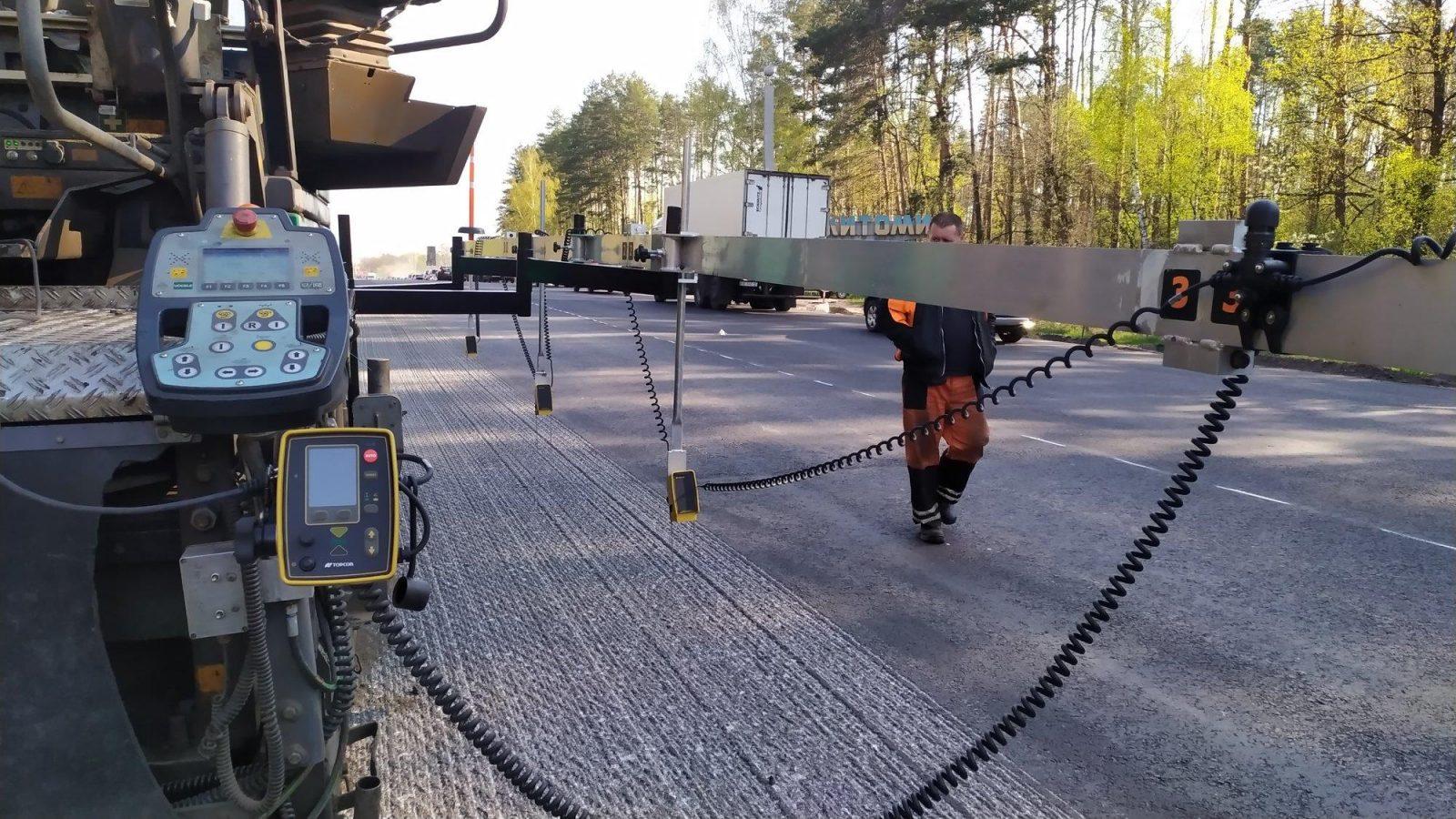 Оборудование Topcon Positioning Systems, как инструмент экономии и повышения качества дорожного строительства