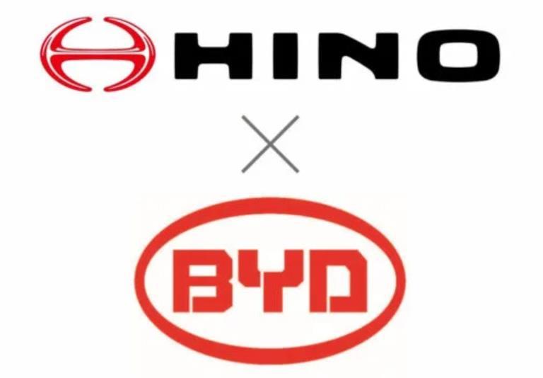 BYD і Hino спільно розроблятимуть комерційні електромобілі