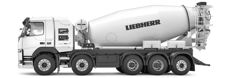 Liebherr представила повністю електричні автобетонозмішувачі