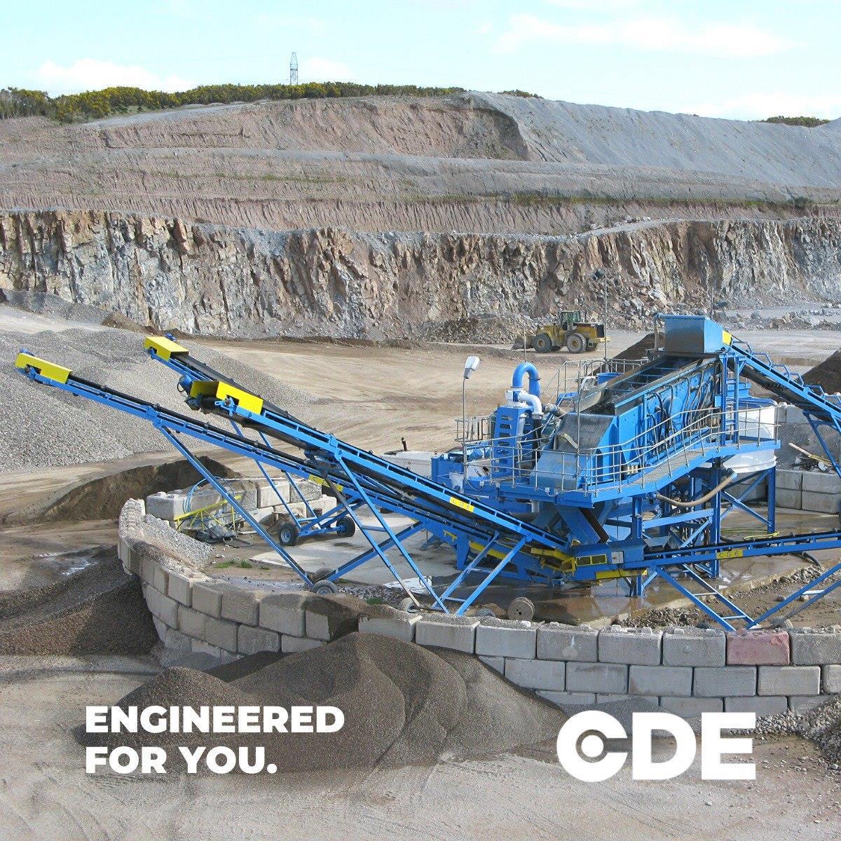 CDE приглашает на открытый вебинар: какие решения для мойки материалов наиболее эффективны