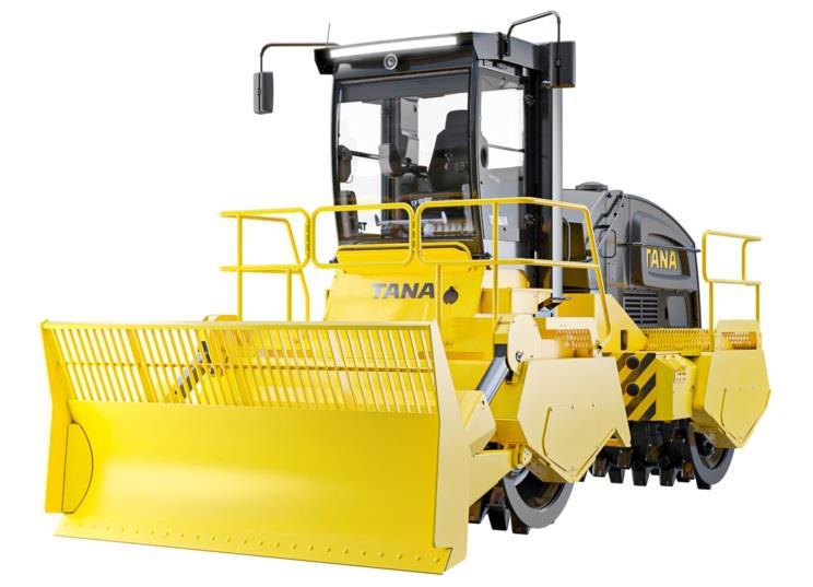Компания TANA представила новые модели компакторов для мусора