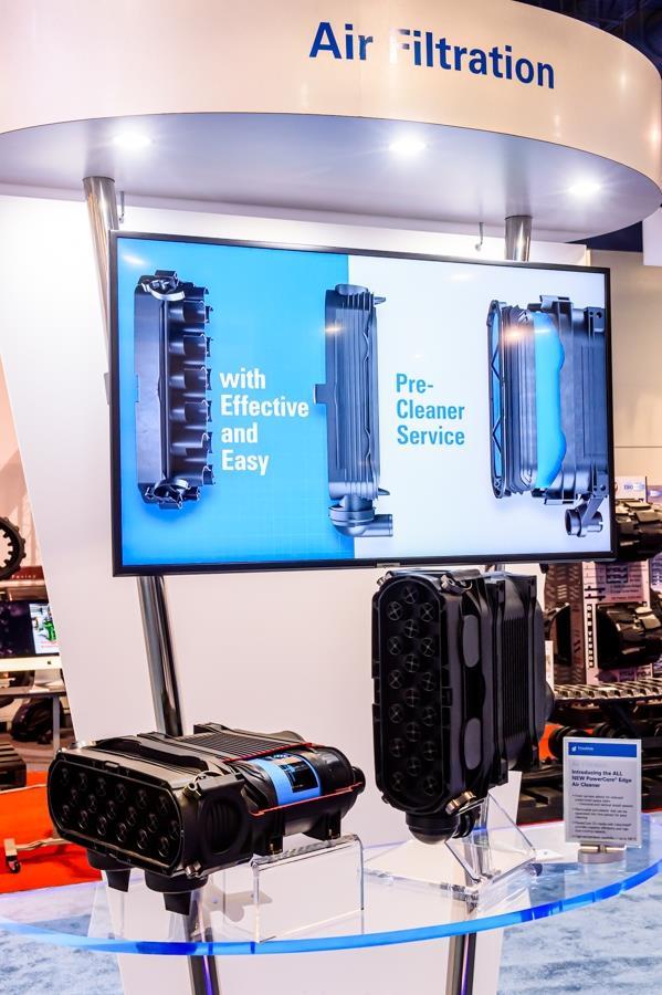 Donaldson представила еще более компактный фильтр PowerCore Edge