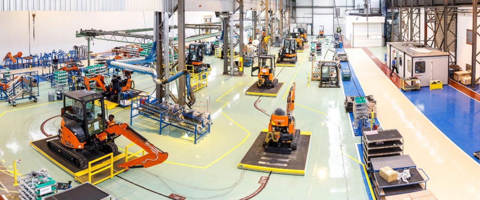 Hitachi прекращает производство спецтехники в Европе