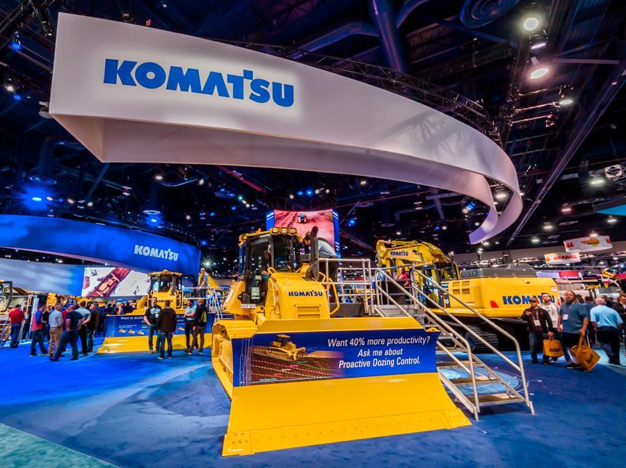 Komatsu подсаживает спецтехнику на альтернативные виды топлива