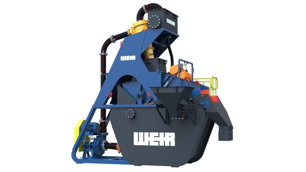 Новий комплекс для мийки піску від Weir Minerals