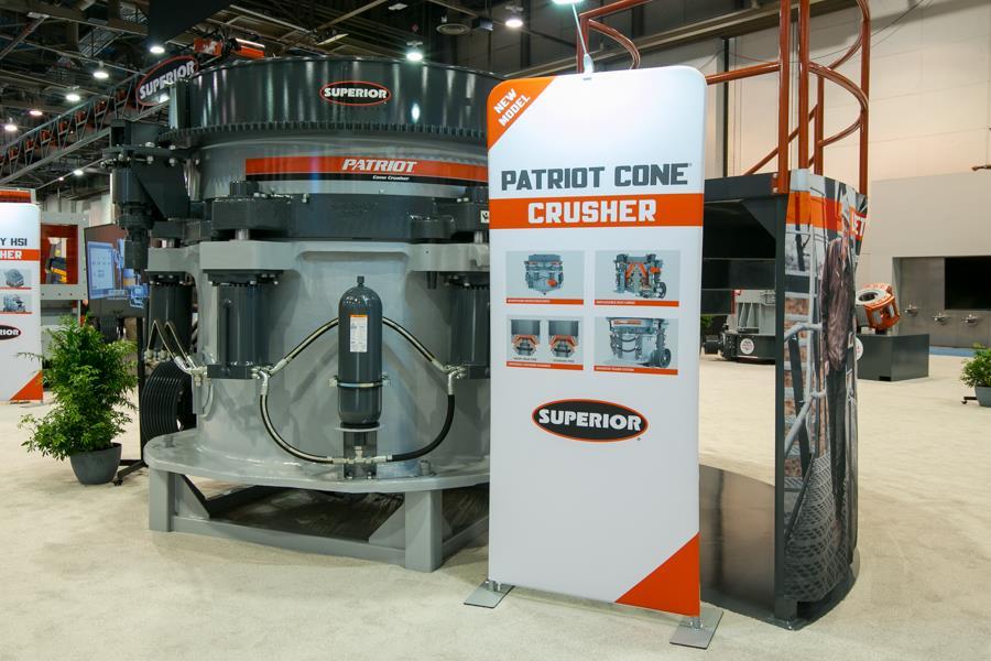 Компанія Superior доповнила лінійку конусних дробарок Patriot новою моделлю P500