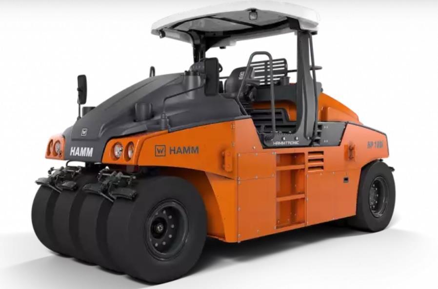 Hamm представила пневмокоток HP 180i наступного покоління