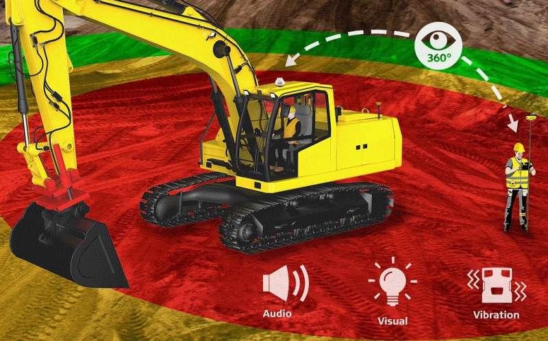 Leica Geosystems представила новую систему для повышения безопасности на стройплощадках