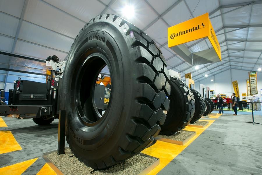 Continental представила новые шины для тяжелой строительной техники